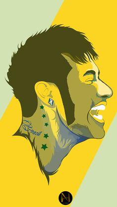 Neymar Wallpapers on Behance