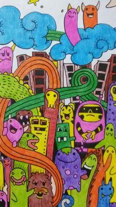 Aty ♡♡♡ 26/02/2017 #Ciudaddemonstruos #draw #drawings #misdibujos #dibujo