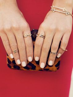 get stack happy with dainty yet daring rings