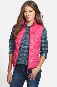 Halogen® Down Vest available at #Nordstrom...being delivered today! January 13, 2015.