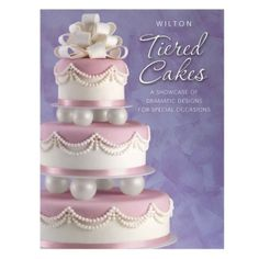 Wilton Tiered Cakes Book Cake Decoration Presentation for sale online Cake Decorating Books, Wilton Cake Decorating, Cake Decorating Supplies, Decorating Ideas, Cupcake Supplies, Sugarcraft Supplies, Baking Supplies, Art Supplies, Book Cupcakes