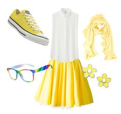"""A Little Bit of Yellow"" by mintynoelle on Polyvore"
