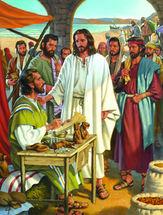 New Testament Lesson Jesus Calls Matthew - Seeds of Faith Podcast Pictures Of Christ Lds, Lds Pictures, Jesus Pictures, Children Pictures, Who Is Jesus, Jesus Our Savior, Christ The King, The Cross Of Christ, Our Father In Heaven