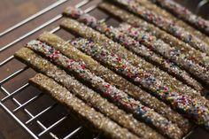 Gingerbread Straws (A Modern Interpretation of Italian Befanini Cookies in Honor of Befana on Epiphany?)