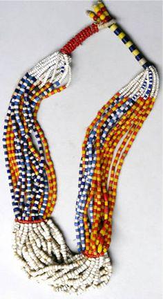 Fulani necklace, Nigeria