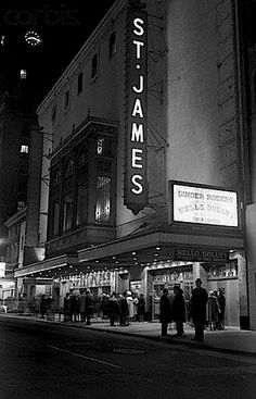 HELLO DOLLYopened Jan 16 1964 at St. James Theatre