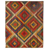 Anonymous Abstract Geometric Painted Board thumbnail 1