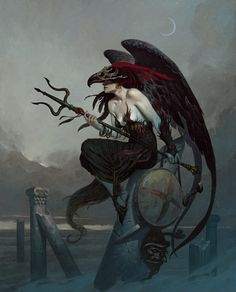 Our exclusive interview with legendary fantasy artist Brom! | io9 | http://bromart.com/
