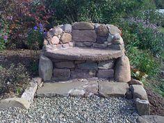 """stoned bench"" by Gordon McNeil Wilkie - Scotland"