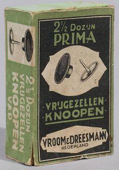 VD reclame voor Vrijgezellen knopen. ca. 1935 Holland, Vintage Advertisements, Memories, Interior, Poster, Nostalgia, The Nederlands, Memoirs, Souvenirs