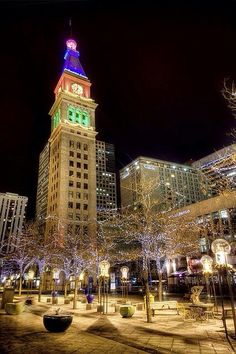 Downtown.  Denver, a great place to live and raise family