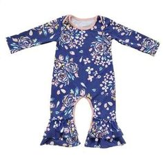 Floral Baby Girl Take Home pajama Baby Shower Gift Baby Girl Coming Home Outfit,ruffle Baby Girl rompers,Organic Newborn Clothes Baby Ruffle Romper, Baby Girl Romper, Baby Girls, Rompers For Kids, Girls Rompers, Baby Outfits Newborn, Baby Boy Outfits, Jumpsuit For Kids, Girls Coming Home Outfit