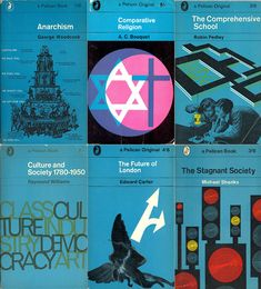 Pelican Covers of the 1960s