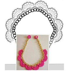 Tina's handicraft : 5 different ideas for crochet necklace