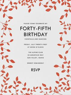 404 Best Adult Birthday Invitations Images Birthday Party