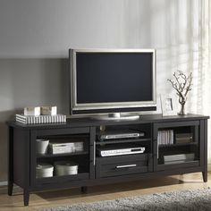 Baxton Studio - 71 One Drawer TV Stand in Espresso