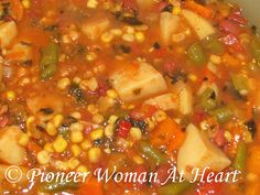 Pioneer Woman at Heart: Frugal and Healthy Soup/Stew