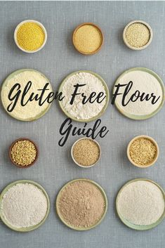 A complete guide to gluten free flours with substitution ratios and nutritional facts. Want to know what the best gluten-free flour is? Check it out here! What Is Gluten Free, Gluten Free Diet, Gluten Free Cooking, Sugar Free Recipes, Gluten Free Recipes, Sweet Recipes, Cake Recipes, Gf Recipes, Spinach Recipes