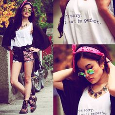 #floral #denim #jean #shorts #style #shoes #boots #sneakers #graphic #style