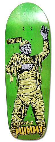 Creature Skateboards Return of the Mummy
