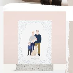 I hope you guys are enjoying your monday ! Let me share with you this illustration for this beautiful family ! I hope you like it ! Wedding Illustration, Family Illustration, Digital Illustration, Pet Portraits, Wedding Portraits, Family Portraits, Wedding Guest Book Alternatives, Digital Portrait, Beautiful Family