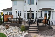 Completed Deck Design & Construction Projects   Fargo-Moorhead Trek Deck, Deck Building Plans, Fargo Moorhead, Deck Skirting, Backyard Patio, Backyard Ideas, Decks And Porches, Outdoor Living, Outdoor Decor