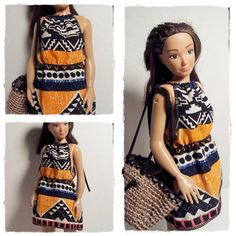 Lammily Doll Outfit / Summer Dress / Doll by LammilyOutfits