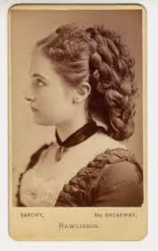 Victorian fake hair chignon