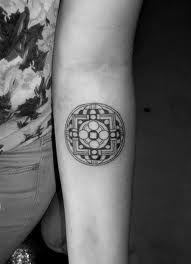small mandala tattoo - Google Search
