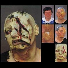 Trucco zombie.. a breve il tutorial: http://www.loacenter.com/trucco-make-up.html