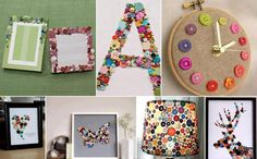 Kreasi Unik dari Kancing Baju - Buttons Ideas