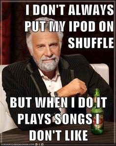Shuffle Fail Meme | Slapcaption.com.....yep