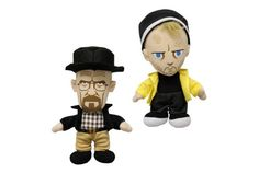 Walt and Jessie plushies :) Vulture's Breaking Bad Countdown Calendar -- Vulture