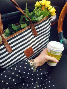 Love this shot! The stripes, polka dots, yellow spray roses....@Tara Gibson  @Barrington Gifts