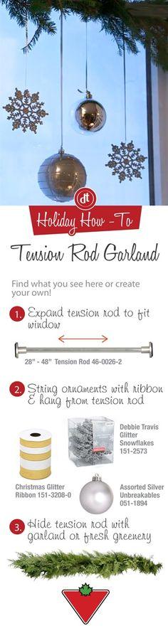 Tension Rod Garland