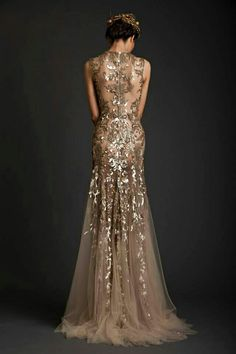Krikor Jabotian Spring 2014 Dresses — Akhtamar Couture Collection. Abiti Di  Pizzo DoratiMatrimonio ... cf7bc6f14ba
