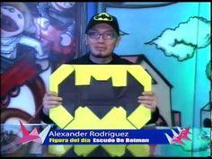 Escudo de Batman ( J. Montroll) En Canal 5 ¡Tu canal! - YouTube