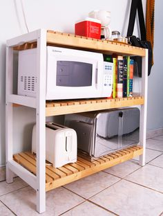 Ikea Hack! MOLGER Benches into Kitchen Storage