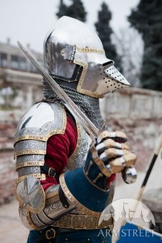 "Medieval Bascinet Helmet Hounskull SCA Bargrill ""The King's Guard"""