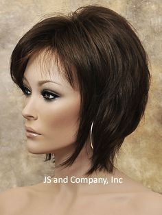 Short Shag Face Framing Wig