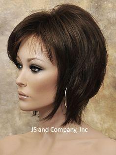 Short Shag Face Framing Wig