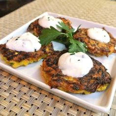 Yellow Squash Fritters by momwhatsfordinner