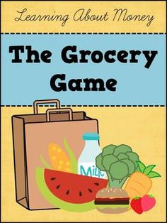 The Grocery Game - a fun way to practice counting money!