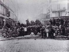 A barricade during the Paris Commune, 1971. A brief history of the world's first socialist working class uprising. The workers of Paris, joined by mutinous National Guardsmen, seized the city and set about re-organising society in their own interests based on workers' councils. They could not hold out, however, when more troops retook the city and massacred 30,000 workers in bloody revenge.