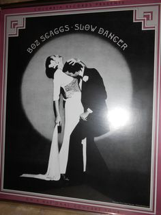 1974 Pre-Tour Poster Boz Scaggs Slow Dancer Framed by CheekyBirdy