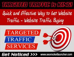 We are here to help you Generate Targeted Traffic to your website!