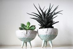 Faux Layered Pots - The PALMA Planters are Inspired by Palm Trees (GALLERY)