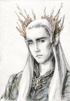 Thranduil, the Elvenking by Ainaven.deviantart.com on @DeviantArt