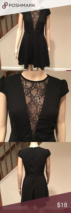 Wowza!  The little black dress has arrived! This dress is so cute and super fun.  Lace down the front for a flattering, peek-a-boo detail.  Wear it out on the town and turn some heads! Boohoo Dresses