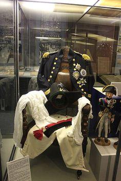 Royal Navy dress uniform in Monmouth Museum  AuthorJohn Cummings